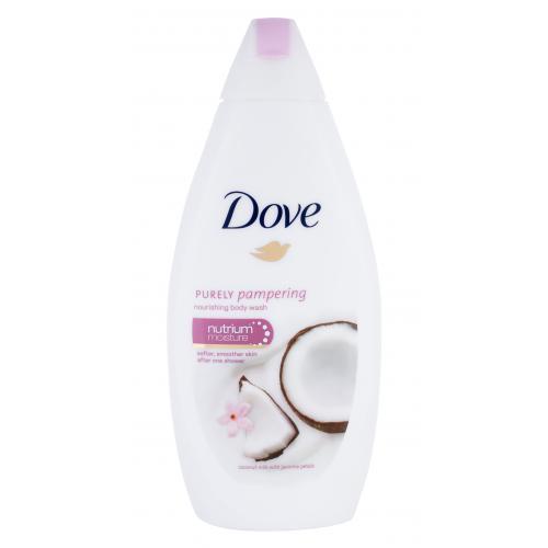 Dove Purely Pampering Coconut Milk sprchový gel 500 ml pro ženy