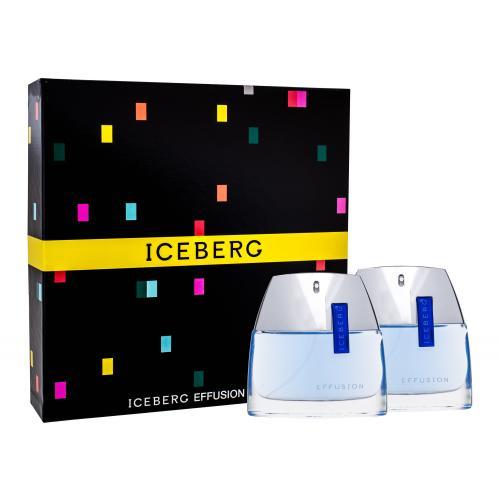 Iceberg Effusion Man dárková kazeta toaletní voda 75 ml + voda po holení 75 ml pro muže
