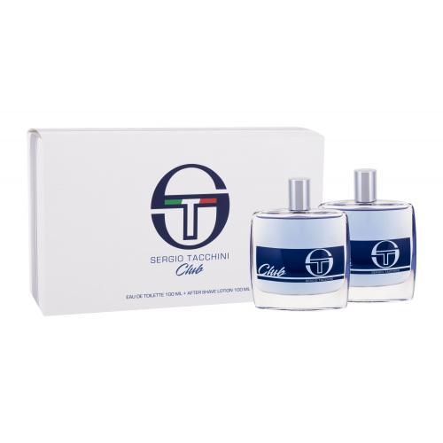Sergio Tacchini Club dárková kazeta pro muže toaletní voda 100 ml + voda po holení 100 ml