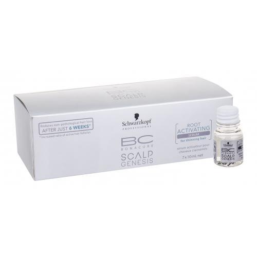 Schwarzkopf BC Bonacure Scalp Genesis Root Activating Serum přípravek proti padání vlasů 7x10 ml pro ženy