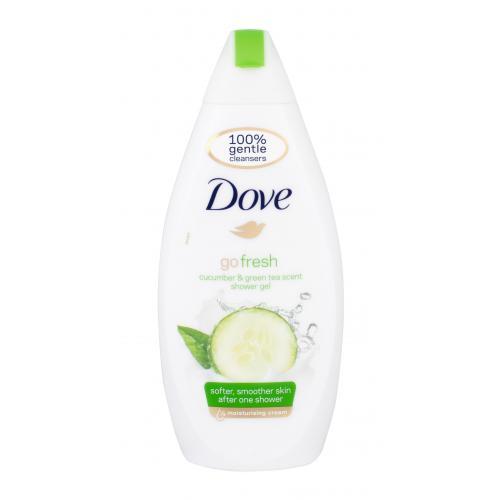 Dove Go Fresh Cucumber sprchový gel 500 ml pro ženy