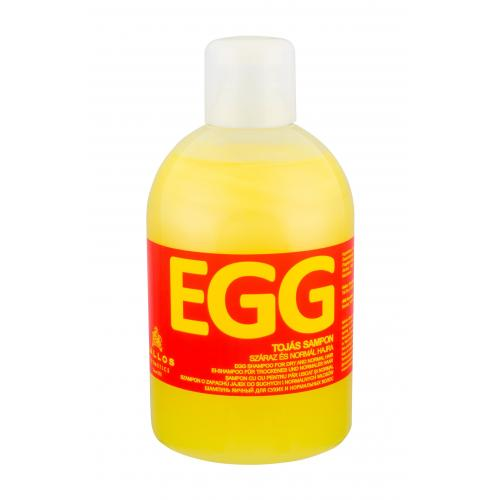 Kallos Cosmetics Egg šampon 1000 ml pro ženy