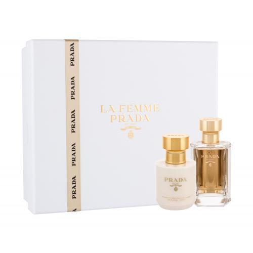 Prada La Femme dárková kazeta parfémovaná voda 50 ml + tělové mléko 100 ml pro ženy