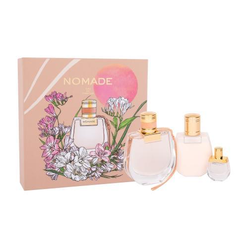 Chloé Nomade dárková kazeta parfémovaná voda 75 ml + parfémovaná voda 5 ml + tělové mléko 100 ml pro ženy