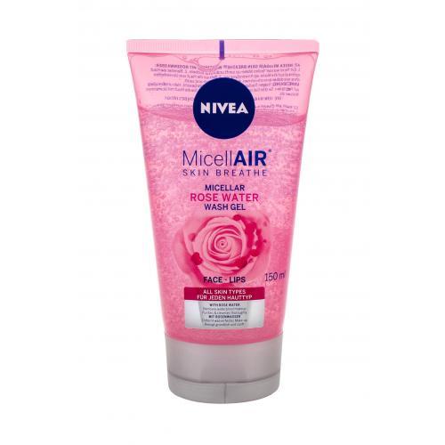 Nivea MicellAIR Rose Water čisticí gel 150 ml pro ženy