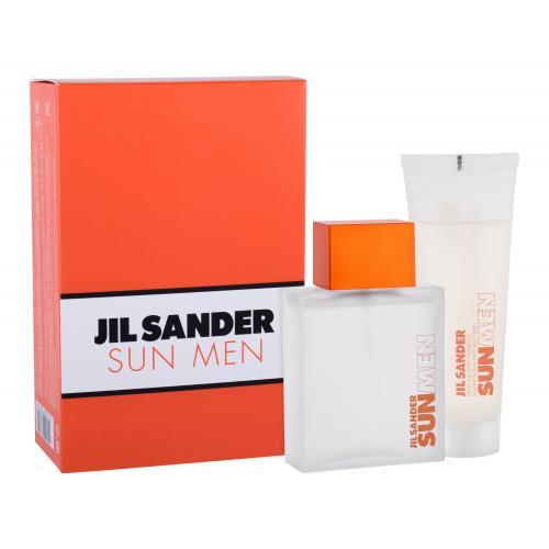 Jil Sander Sun Men dárková kazeta toaletní voda 75 ml + sprchový gel 75 ml pro muže