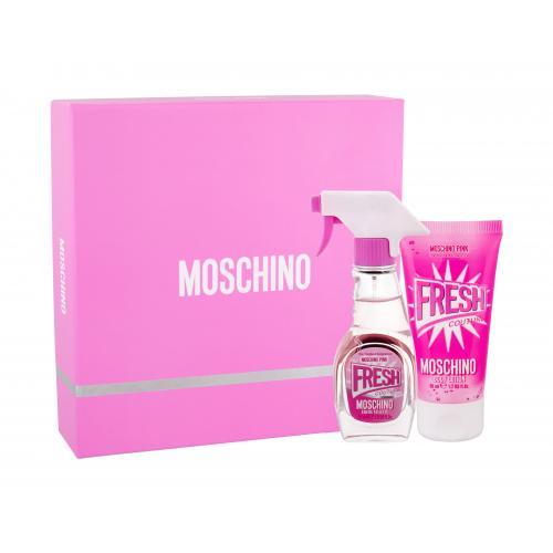 Moschino Fresh Couture Pink dárková kazeta toaletní voda 30 ml + tělové mléko 50 ml pro ženy