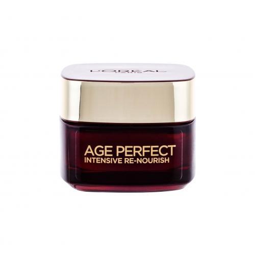 L´Oréal Paris Age Perfect Intensive Re-Nourish denní pleťový krém 50 ml pro ženy