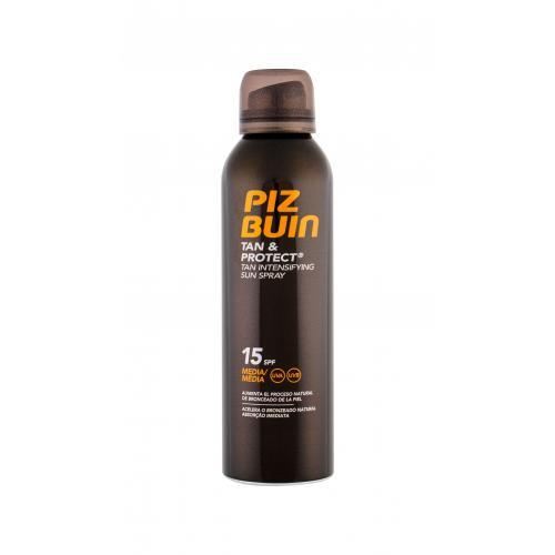 PIZ BUIN Tan & Protect Tan Intensifying Sun Spray SPF15 opalovací přípravek na tělo 150 ml pro ženy