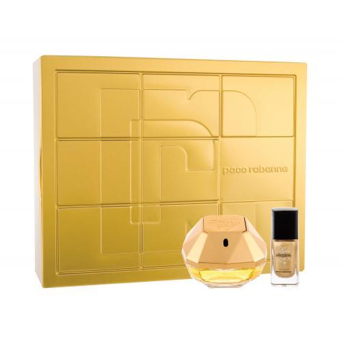 Paco Rabanne Lady Million dárková kazeta parfémovaná voda 50 ml + lak na nehty 9 ml pro ženy