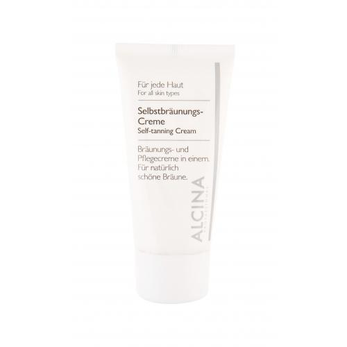 ALCINA Self-Tanning Cream samoopalovací přípravek 50 ml pro ženy