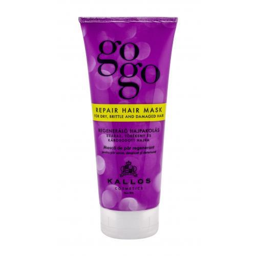 Kallos Cosmetics Gogo Repair maska na vlasy 200 ml pro ženy