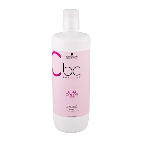 Schwarzkopf BC Bonacure pH 4.5 Color Freeze kondicionér 1000 ml pro ženy