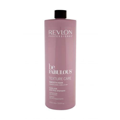 Revlon Professional Be Fabulous™ Texture Care Smooth Hair šampon 1000 ml pro ženy