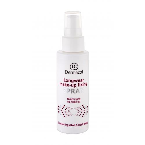 Dermacol Longwear Make-Up 100 ml osvěžující fixační sprej na make-up pro ženy