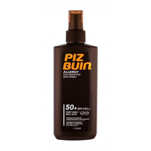 PIZ BUIN Allergy Sun Sensitive Skin Spray SPF50 opalovací přípravek na tělo 200 ml pro ženy