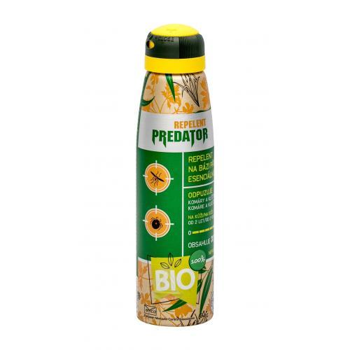 PREDATOR Repelent Bio 150 ml repelent na bázi přírodních esenciálních silic unisex