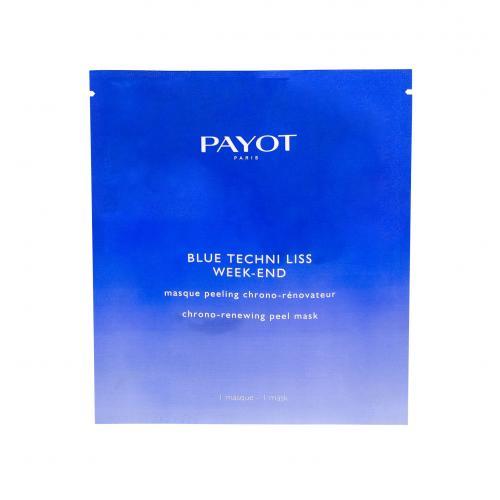 PAYOT Blue Techni Liss Week-End pleťová maska 1 ks pro ženy