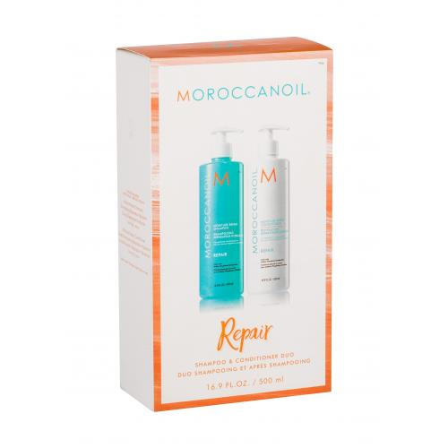Moroccanoil Repair dárková kazeta šampon 500 ml + kondicionér 500 ml pro ženy