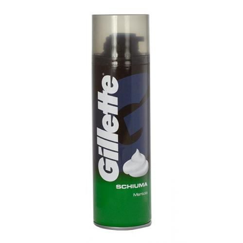 Gillette Shave Foam Menthol pěna na holení 300 ml poškozený flakon pro muže