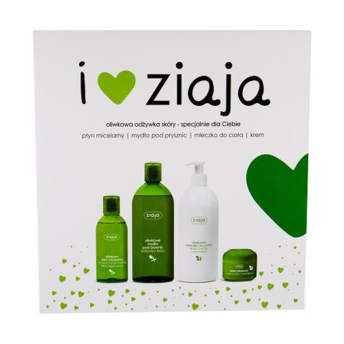 Ziaja Natural Olive dárková kazeta dárková sada