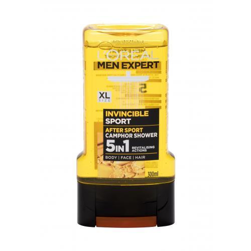 L´Oréal Paris Men Expert Invincible Sport 5 in 1 sprchový gel 300 ml pro muže