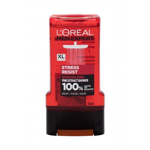 L´Oréal Paris Men Expert Stress Resist sprchový gel 300 ml pro muže