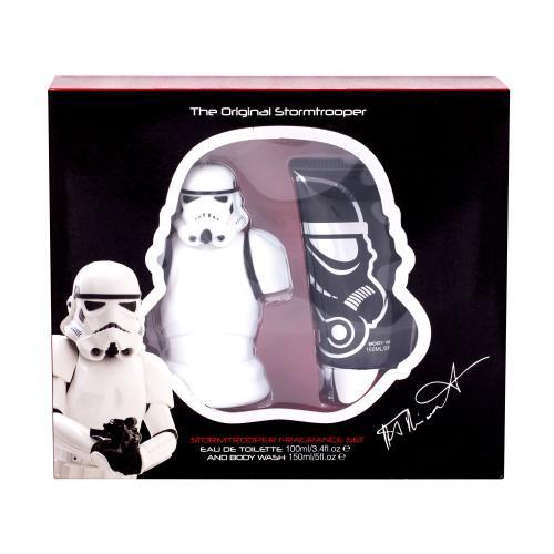 Star Wars Stormtrooper dárková kazeta toaletní voda 100 ml + sprchový gel 150 ml pro děti