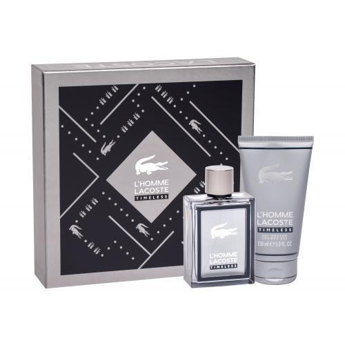Lacoste L´Homme Lacoste Timeless dárková kazeta toaletní voda 100 ml + sprchový gel 150 ml pro muže