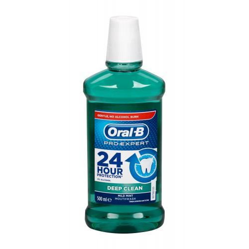 Oral-B Pro Expert Deep Clean ústní voda 500 ml unisex