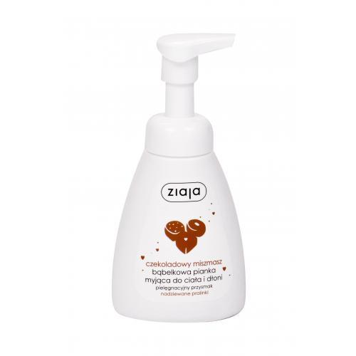 Levně Ziaja Chocolate Mix Hands & Body Foam Wash 250 ml tekuté mýdlo pro ženy