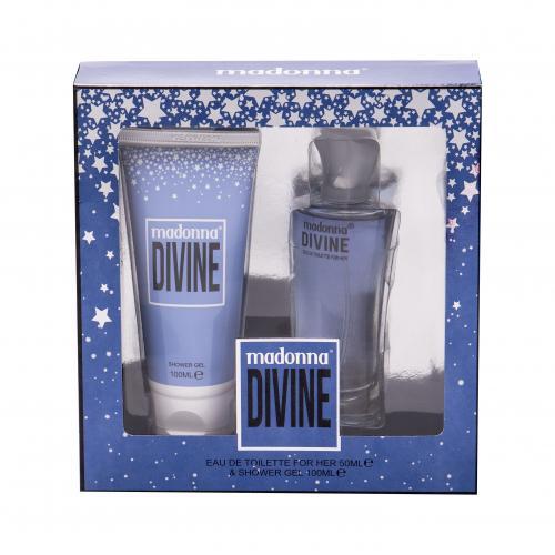 Madonna Nudes 1979 Divine dárková kazeta toaletní voda 50 ml + sprchový gel 100 ml pro ženy