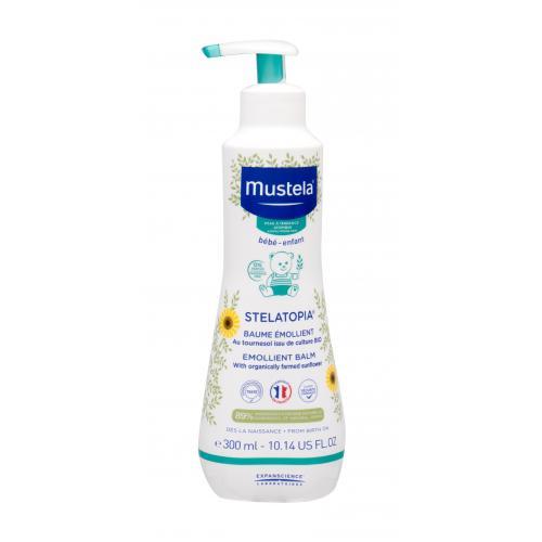 Mustela Bébé Stelatopia® Emollient Balm tělový balzám 300 ml pro děti