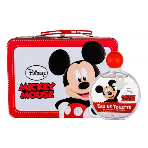 Disney Mickey Mouse dárková kazeta toaletní voda 100 ml + plechová krabička pro děti