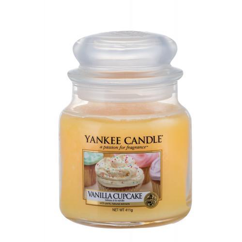Yankee Candle Vanilla Cupcake vonná svíčka 411 g unisex