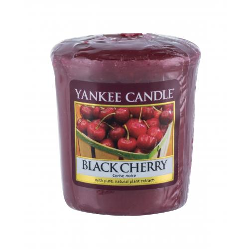 Yankee Candle Black Cherry vonná svíčka 49 g unisex