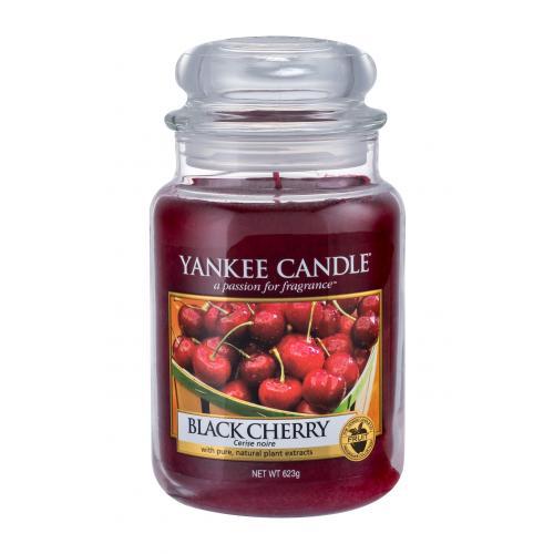 Yankee Candle Black Cherry vonná svíčka 623 g unisex
