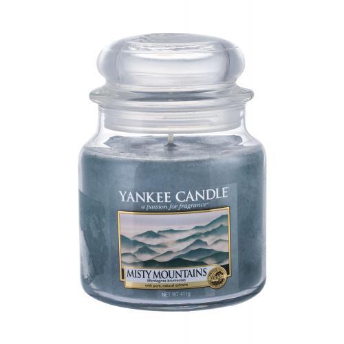 Yankee Candle Misty Mountains vonná svíčka 411 g unisex