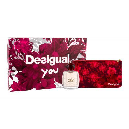 Desigual You dárková kazeta toaletní voda 50 ml + kosmetická taška pro ženy