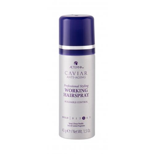 Alterna Caviar Anti-Aging Working Hairspray lak na vlasy 43 g pro ženy