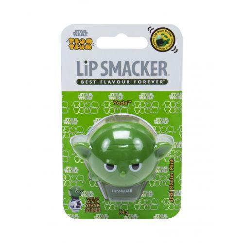 Lip Smacker Star Wars Yoda 7,4 g balzám na rty pro děti Jedi Master Mint