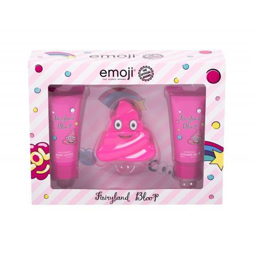 Emoji Fairyland Bloop dárková kazeta parfémovaná voda 50 ml + sprchový gel 60 ml + tělové mléko 60 ml pro děti