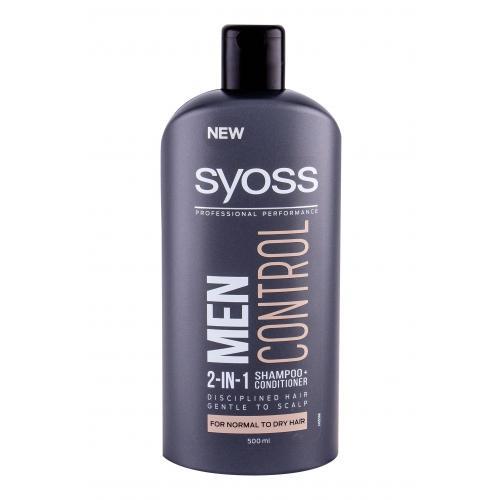 Syoss Professional Performance Men Control 2-in-1 šampon 500 ml pro muže