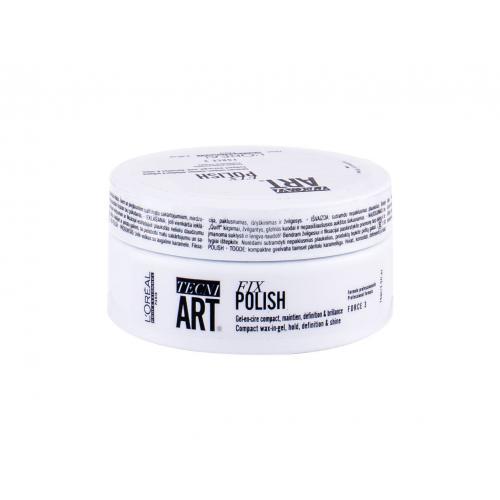 L´Oréal Professionnel Tecni.Art Fix Polish vosk na vlasy 75 ml pro ženy