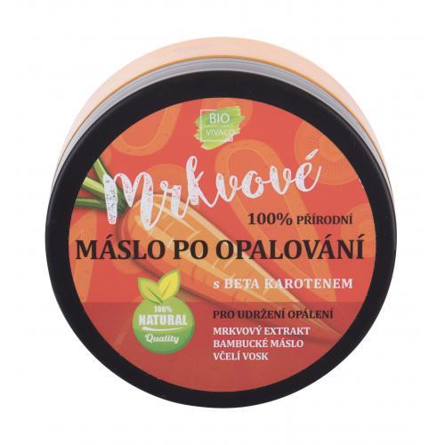Vivaco Bio Carrot After Sun Butter 150 ml zvláčňující mrkvové máslo po opalování pro ženy