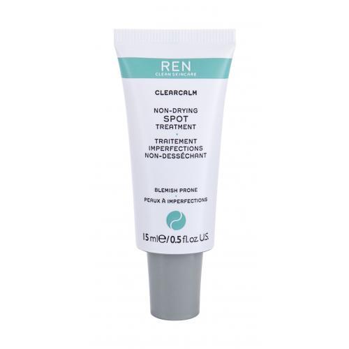 REN Clean Skincare Clearcalm 3 Non-Drying Spot Treatment lokální péče 15 ml pro ženy