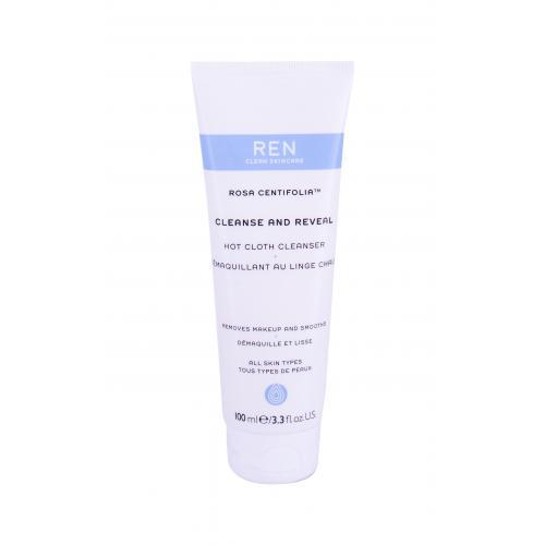 Levně REN Clean Skincare Rosa Centifolia Cleanse And Reveal 100 ml čisticí gel pro ženy na všechny typy pleti