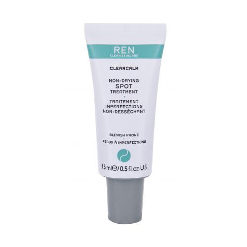 REN Clean Skincare Clearcalm 3 Non-Drying Spot Treatment lokální péče 15 ml tester pro ženy