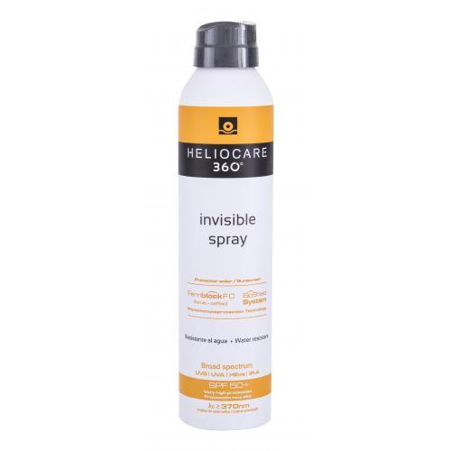 Heliocare 360° Invisible SPF50+ 200 ml ochranný opalovací sprej na tělo unisex