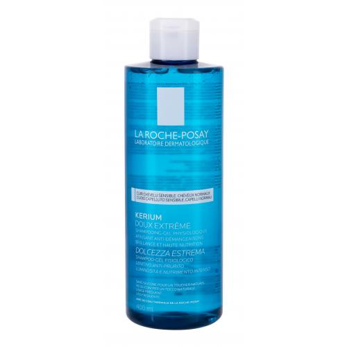 La Roche-Posay Kerium Extra Gentle 400 ml šampon pro zklidnění citlivé pokožky hlavy pro ženy
